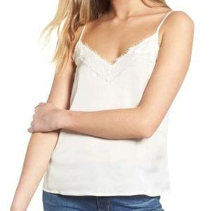 BP camisole satin lace strap top